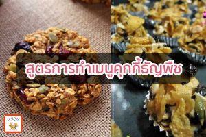สูตรการทำเมนูคุกกี้ธัญพืช เมนูง่ายๆ อาหารสุขภาพ เมนูไข่ เราได้รวบรวม เมนูง่ายๆ ที่ทำได้เอง